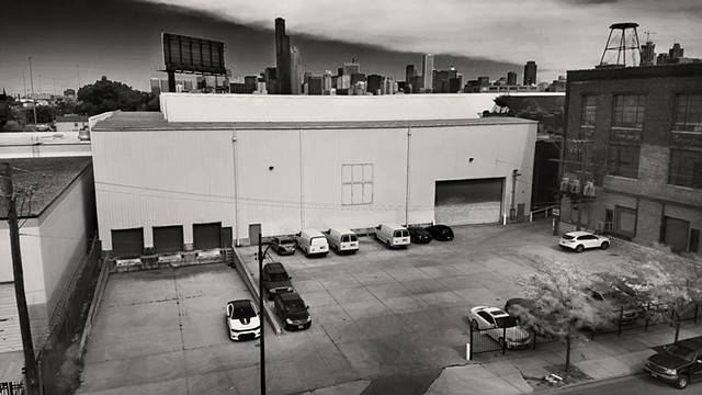 Warehouses, on Cermak.
