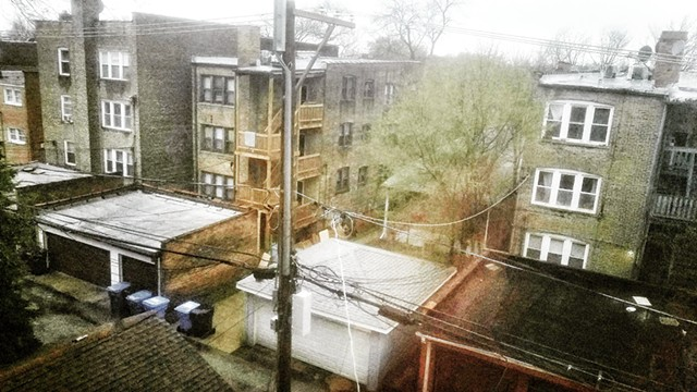 Rainy Spring Day in West Ridge