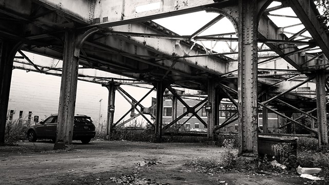 Under the Tracks at Sedgwick
