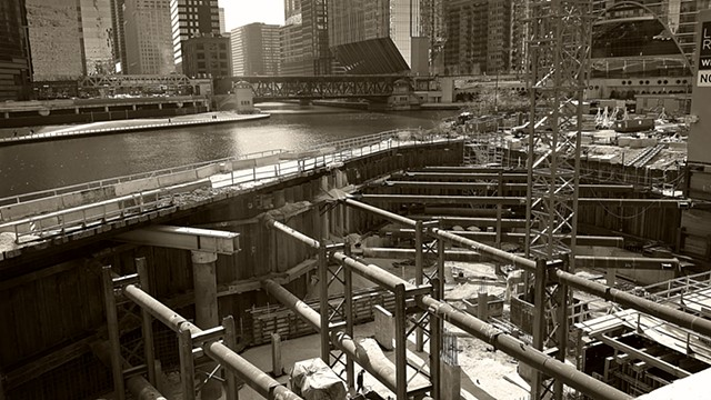 Wolf Point Under Construction