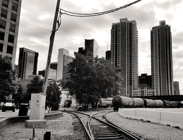 Rail near Kinzie & Canal
