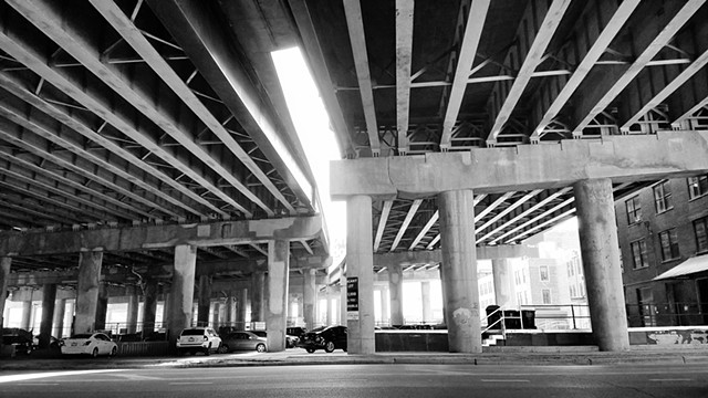 Cermak Road under I-94