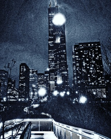 Late Night View in South Loop