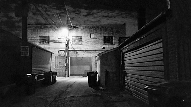 Late Night Alley Shortcut, in Arcadia Terrace