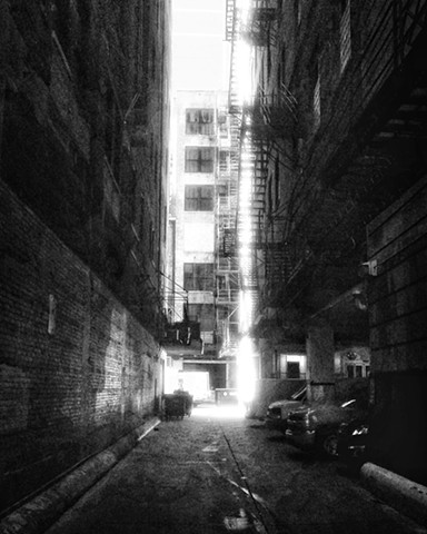 Downtown Alley at Noon