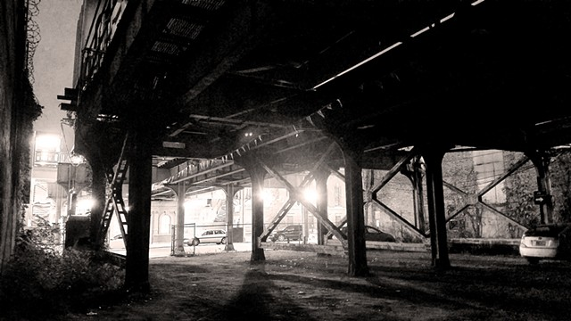 Under Sedgwick, at Night