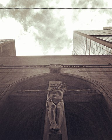 Christ Looking Down on Madison Street at St. Peter's
