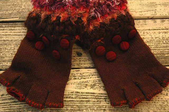 knit gloves #3