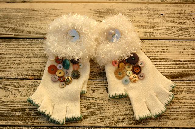 knit gloves #5