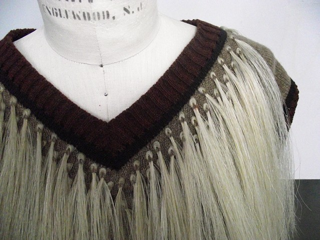 Horse Hair Garment Detail