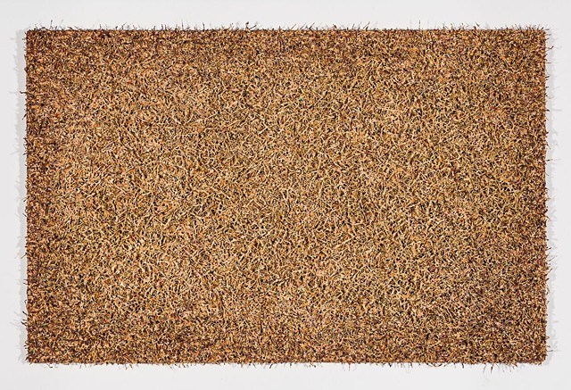 Michael Tarbi conceptual oil painting Hog Hair Doormat 2019