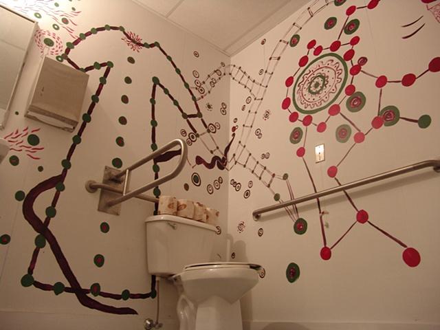 John/Jane Wall Drawing 2, Artspace New Haven, CT