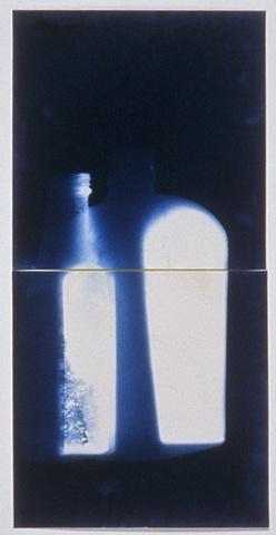 Untitled Photogram, Bottles