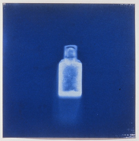 Untitled Photogram, Bottle