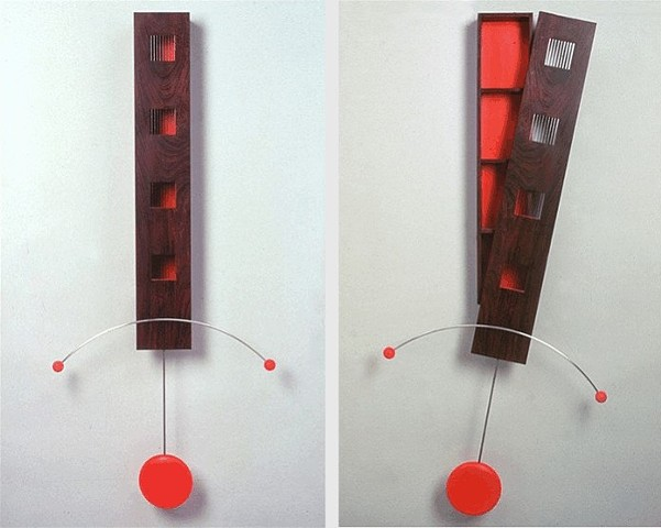 Red Wall Cabinet