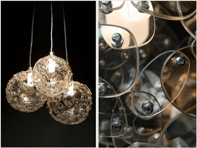 Eye glass Chandelier