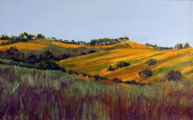 Paso Robles Afternoon  ( view from riverbed)
