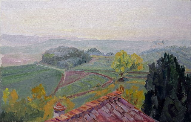 Campriano View,Morning Mist