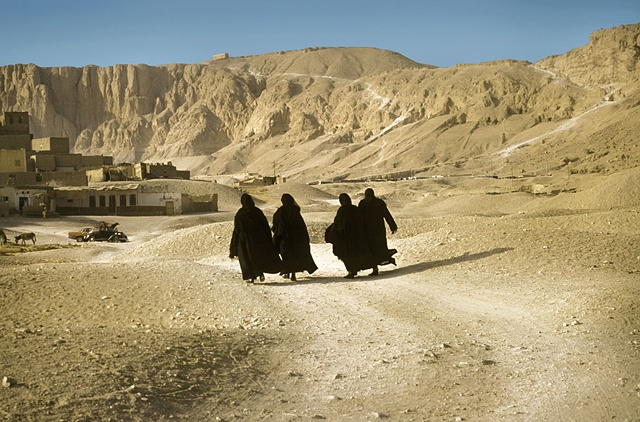 Four Women Gurna, Egypt