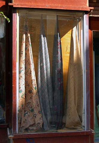 Fabric Store Window, Luxor