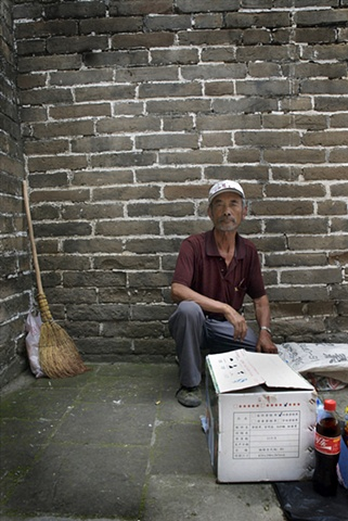 Vendor Li Shengting, The Great Wall, China