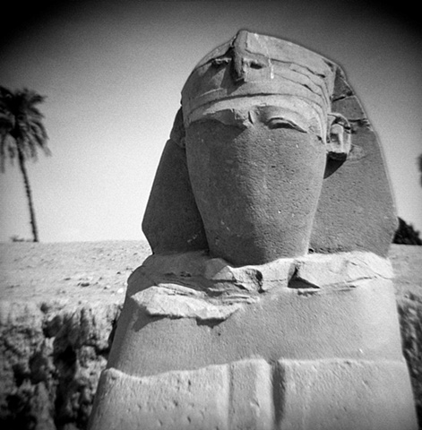 Veiled Sphinx,  Luxor, Egypt