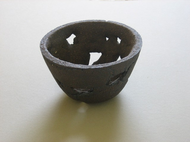 Ceramic meditation bowl