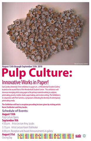 Pulp Culture: Innovative Works in Paper!
