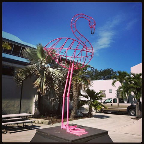 Pink Flamingo West Palm Beach