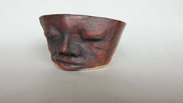 Face Bowl eyes closed