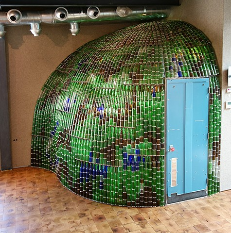 Bottle Wall, 2013