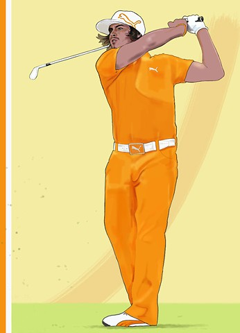 Rickie Fowls' Sunday Orange