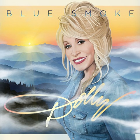 """Dolly"" Blue Smoke"