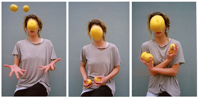 Elise, Tossing Lemons that We Stole From My Neighbor in the Night, 2012