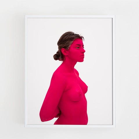 Jane (Red) No.1, 2015