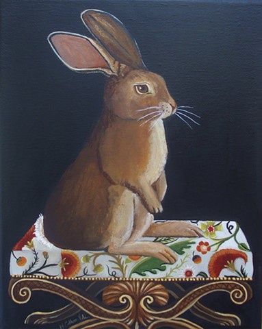 Bunny Pose/SOLD