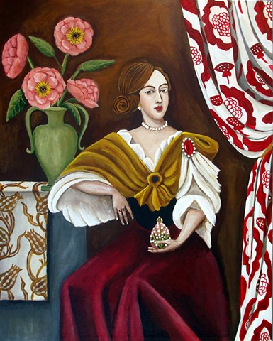 art, painting, deer, interiors, london, british, catherine nolin, whippet, hour glass. matisse