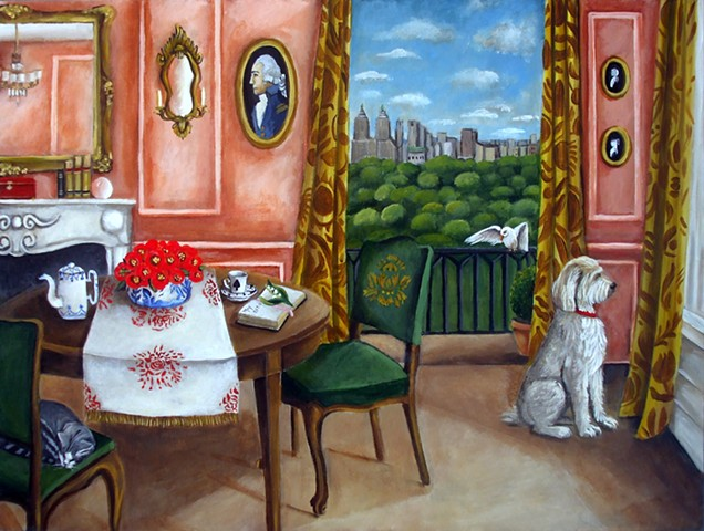art, kids, interiors, cats, dogs, birds, london, chinoiserie, catherine nolin, dequattro, artwork, rugs, rooms, decor, inspirational