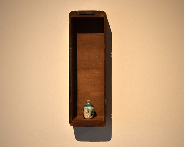 Mourning Box 2/ Ceramic Vase Gift of Hannah Schelb
