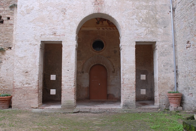 Autoimmune/ Wool Installed at Castello Pieve, Corciano, Italy