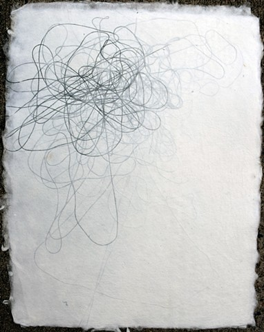 Hand Made Paper with Thread