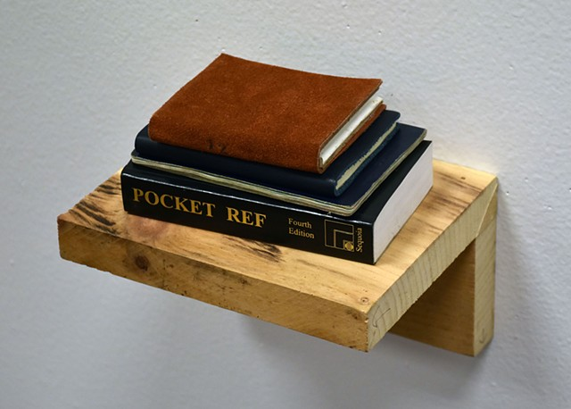 Shelf with Pocket Reference