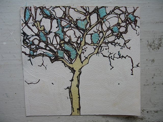 Lisboa Tree Drawings 2007