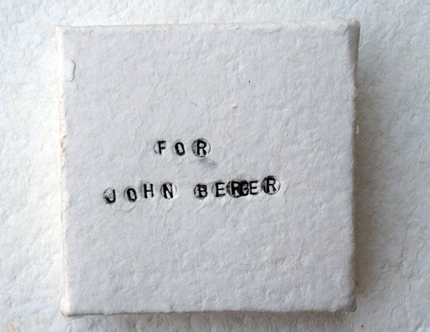 Book for John Berger 2015