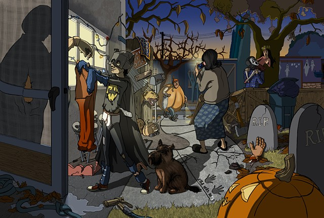 East Side Halloween
