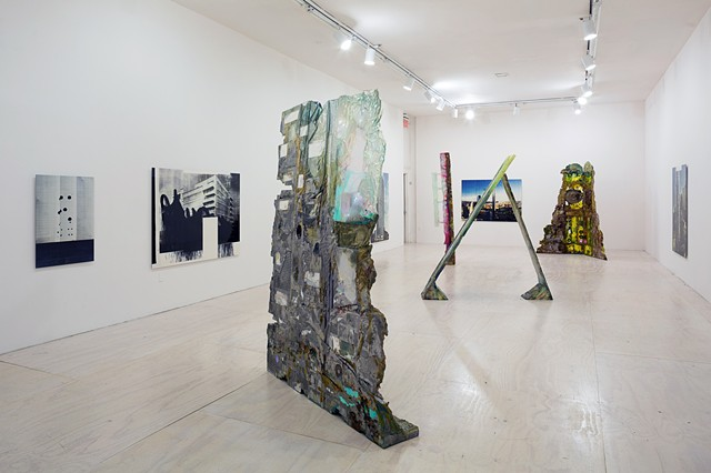 Installation view of Greater New York at MoMA PS1, 2015. © 2015 MoMA PS1; Photo Pablo Enriquez