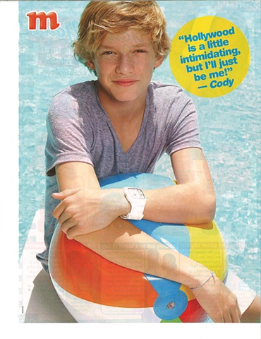 Cody Simpson for M Magazine