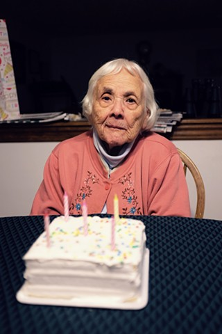 Abuelita. 97th Birthday