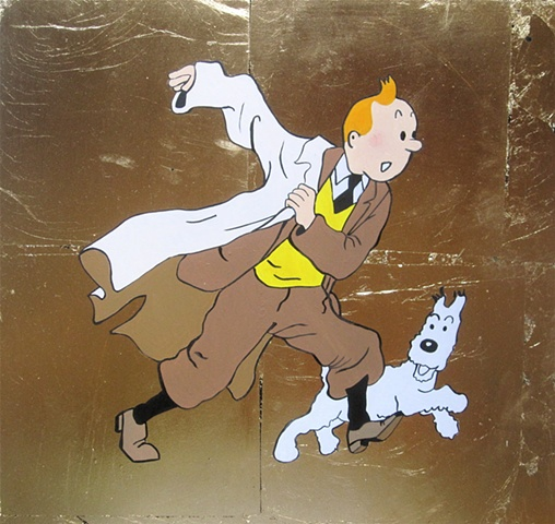 Tintin (after Herge)