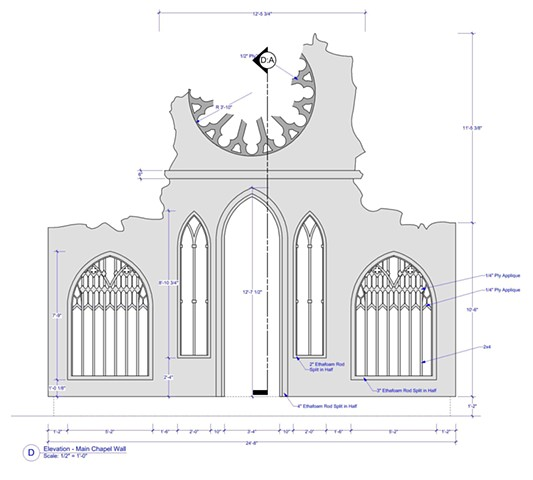 The Chapel Drawing